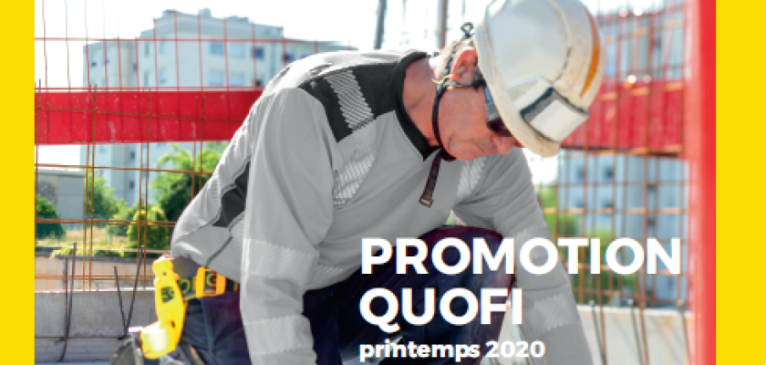 Bâtiment : Promotion Printemps 2020