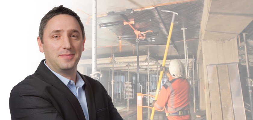 Martial Barbarou, directeur de la Prévention au sein de VINCI Construction France