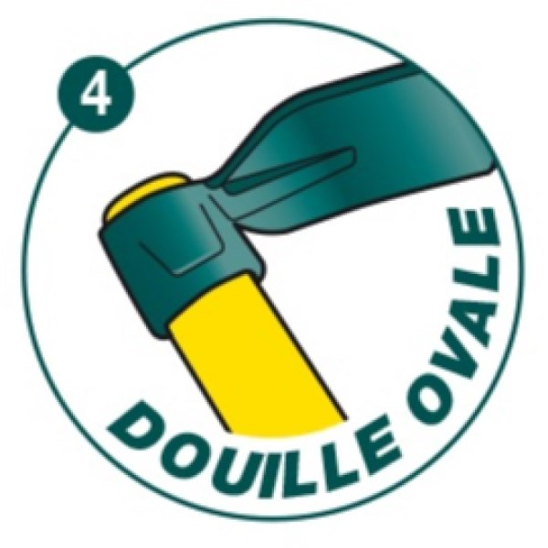 Houe douille ovale Duopro 5