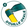 Houe douille ovale Duopro